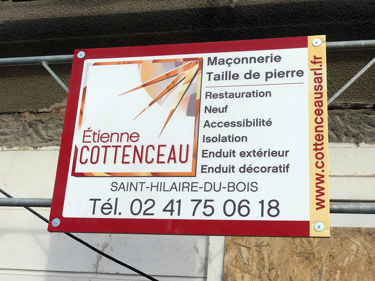 Cottenceau signaletique